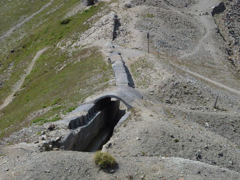 Laufgraben Betoniert