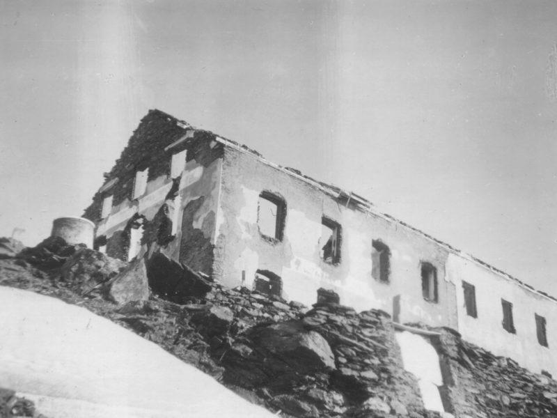 7047 009 Ruine Stevio I CH Grenze 1928
