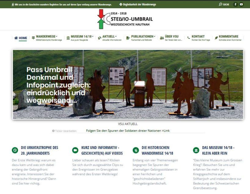 Homepage Neu