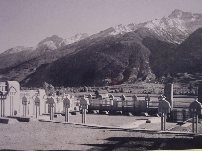 Soldatenfriedhof Spondinig